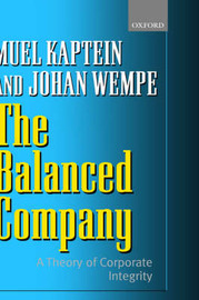 The Balanced Company by Muel Kaptein