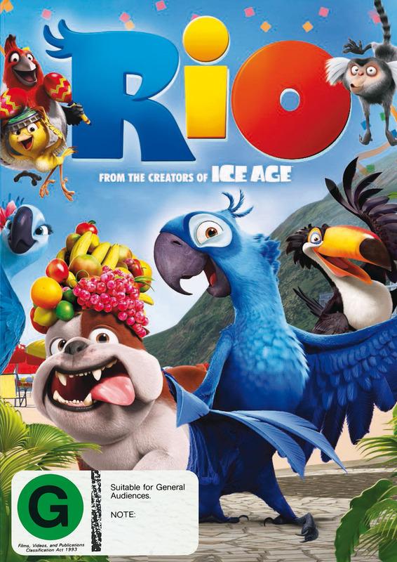Rio on DVD