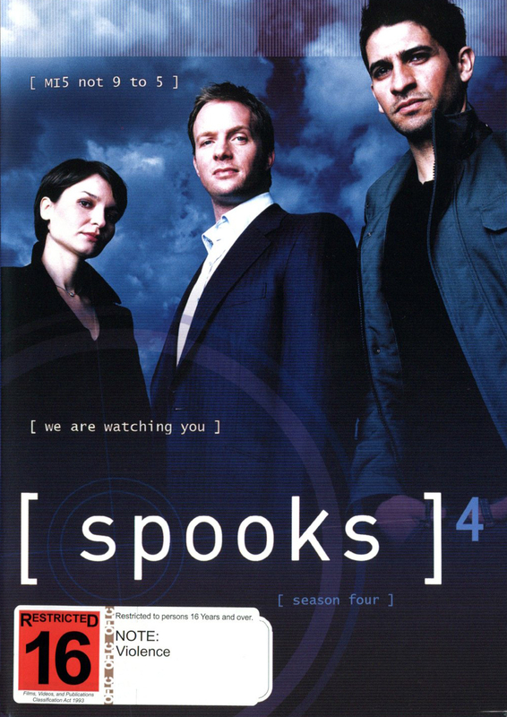Spooks - Season 4 (5 Disc Set) on DVD