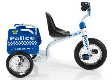Eurotrike: Tandem Trike - Police image