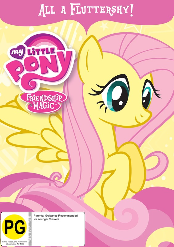 My Little Pony: Friendship Is Magic - All A Fluttershy! on DVD