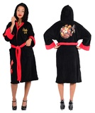 DC Comics Bombshells - Harley Quinn Fleece Bathrobe
