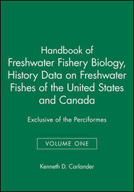 Handbook of Freshwater Fishery Biology: v. 1 by Kenneth D. Carlander image