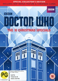 Doctor Who: The 10 Christmas Specials (Special Collectors Edition) on DVD