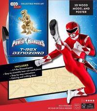 IncrediBuilds: Power Rangers: Red Ranger Zord Signature Series 3D Wood Model