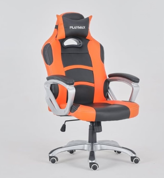 Playmax Gaming Chair Orange and Black for