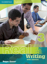 Cambridge English Skills Real Writing 3 with Answers and Audio CD: Level 3 by Roger Gower image
