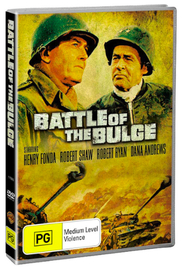 Battle Of The Bulge (1965) on DVD