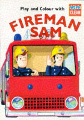 Fireman Sam Wipe Clean Book