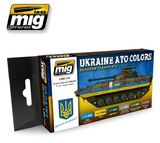 Ukraine ATO Colours Set