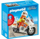 Playmobil: Emergency Motorcycle with Light (5544)