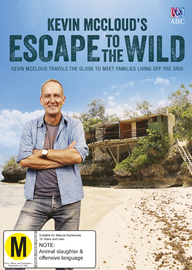 Kevin McCloud's Escape to the Wild DVD