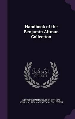 Handbook of the Benjamin Altman Collection image