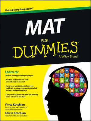 MAT For Dummies by Vince Kotchian