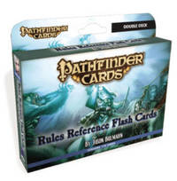 Pathfinder Cards: Rules Reference Flash Cards Double Deck by Jason Bulmahn