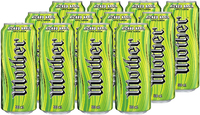 Mother Energy Drink Kicked Apple (500ml, 12pk)
