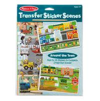 Melissa & Doug: Around the Town - Transfer Stickers