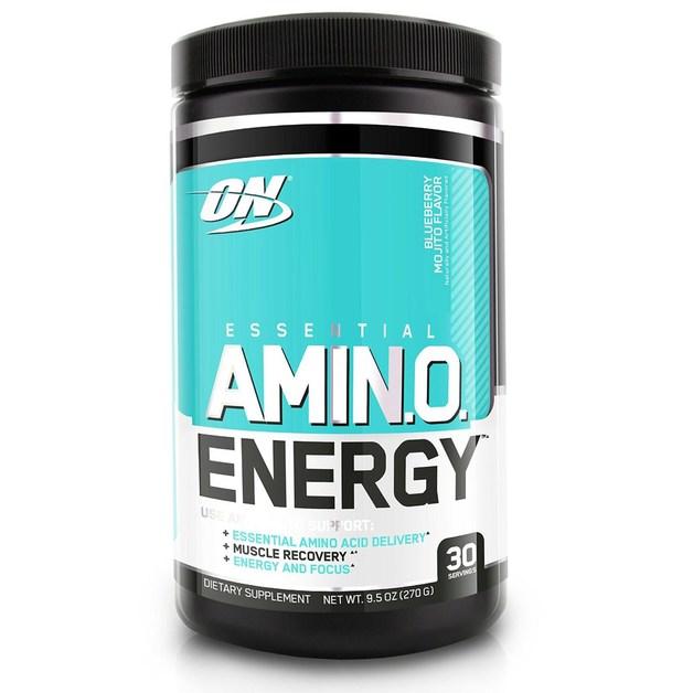 Optimum Nutrition Amino Energy Drink - Blueberry Mojito (30 Serves)