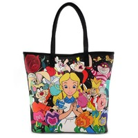 Loungefly: Disney Alice - Characters Tote Bag