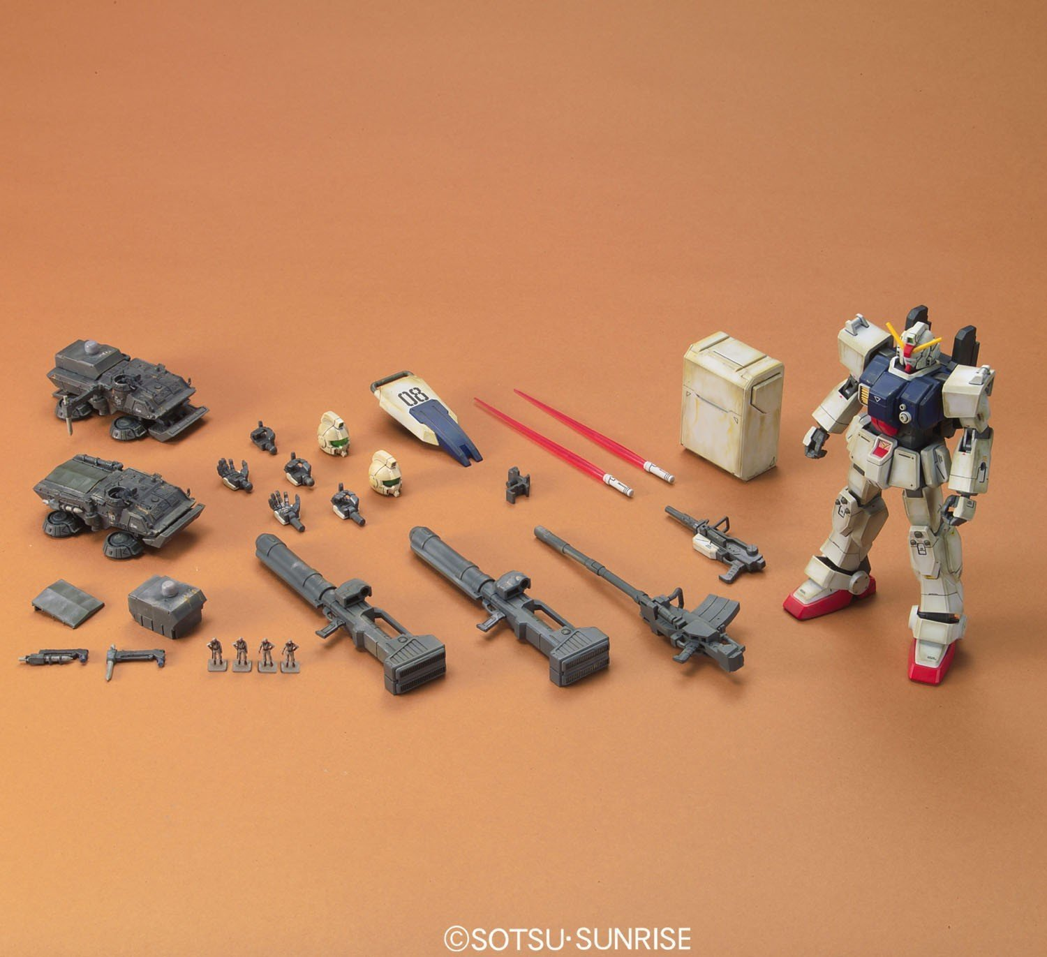 HGUC 1/144 RX-79(G) Gundam The Ground War Set - Model kit image