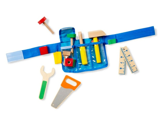 Melissa & Doug - Deluxe Tool Belt Set