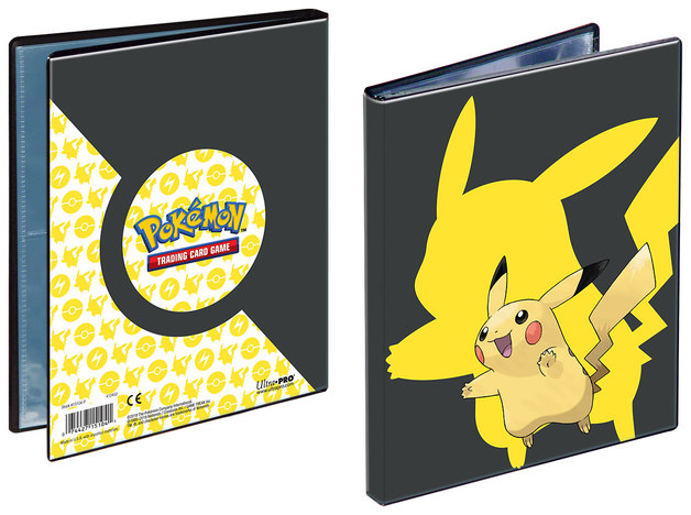 Ultra Pro: Pokemon 4 Page Portfolio: Pikachu