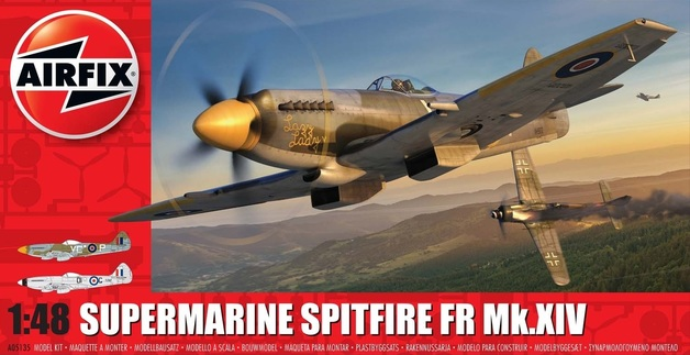 Airfix 1:48 Supermarine Spitfire FR Mk.XIV Scale Model Kit