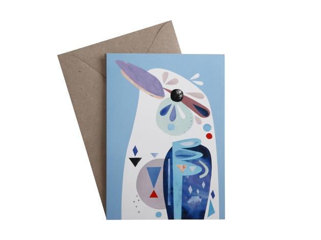 Pete Cromer: Greeting Card - Kookaburra