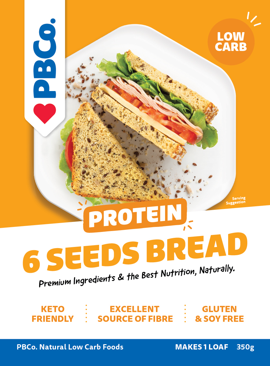 PBCo. Protein 6 Seed Bread Mix 350g image