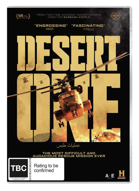 Desert One on DVD