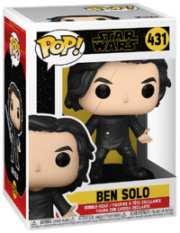 Star Wars: Ben Solo (with Blue Lightsaber) - Pop! Vinyl Figure