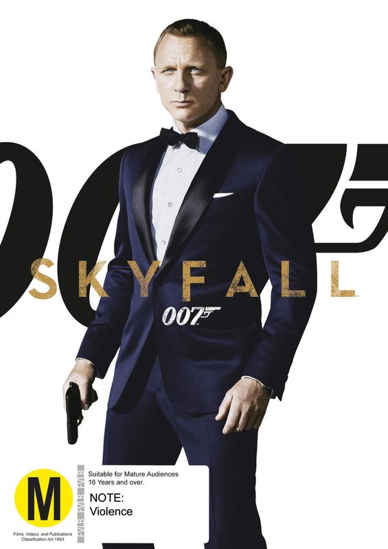 Skyfall on DVD