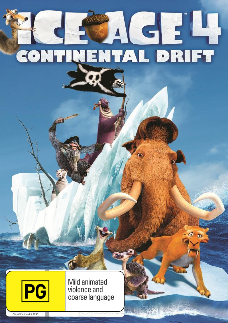 Ice Age 4: Continental Drift on DVD image