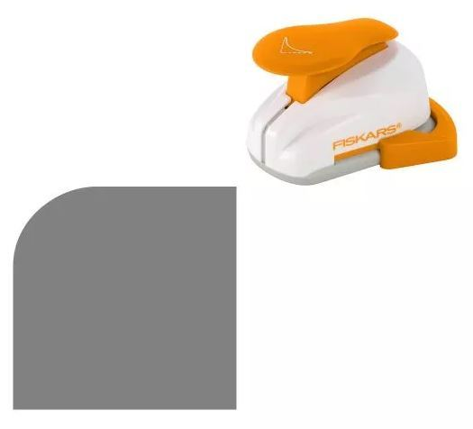 Fiskars Lever Punch - Corner Round (Medium)