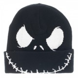 Nightmare Before Christmas - Jack Face Cuff Beanie