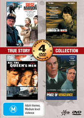 True Stories Collection (All The Queens Men, Ambush In Waco, Siege At Marion, Price Of Vengenace) (2 Disc) on DVD