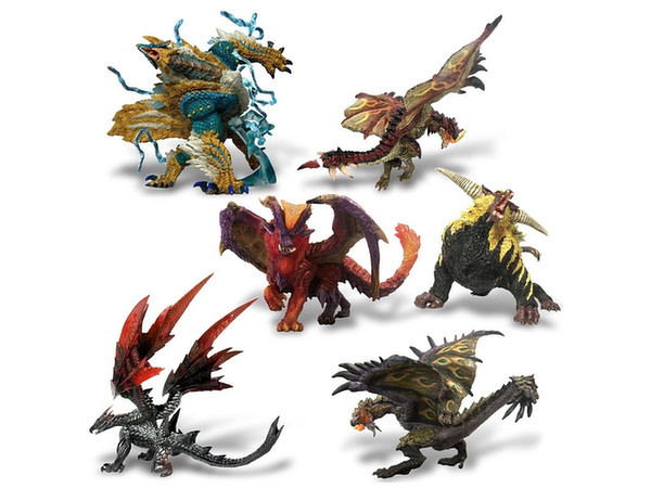 Fb Monster Hunter Mini Figure Blind Box At Mighty Ape Nz