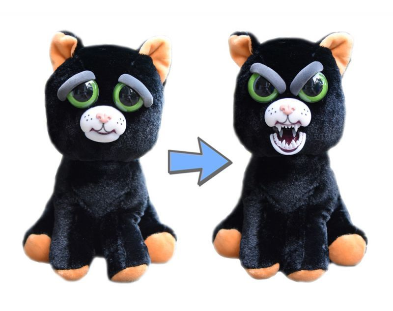 Feisty Pets: Caty Cobweb - Transforming Cat Plush image