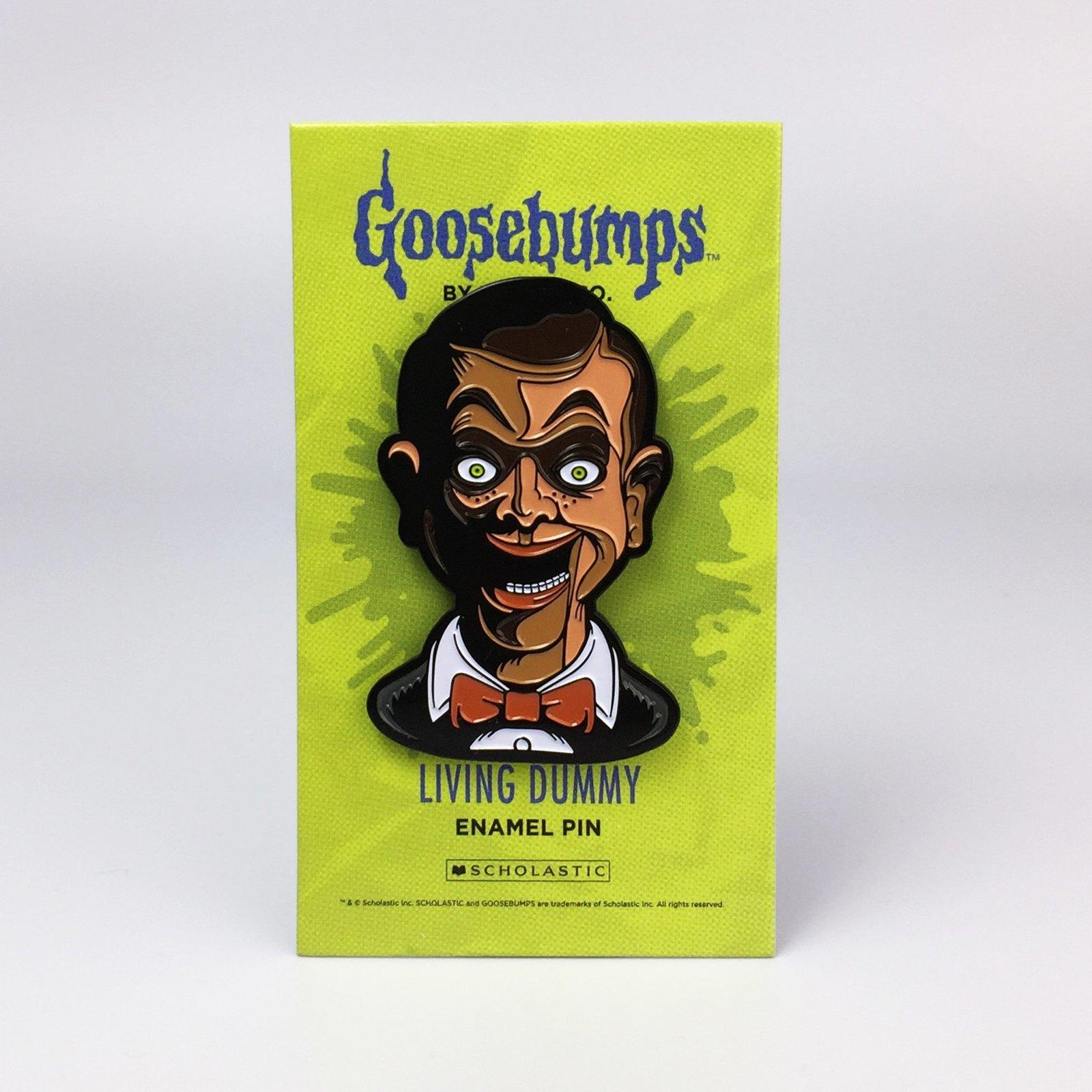 Goosebumps Living Dummy Pin image