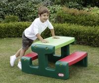 Little Tikes: Junior Picnic Table - Evergreen