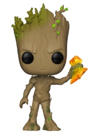 Avengers: Infinity War - Teen Groot (with Storm Breaker) Pop! Vinyl Figure image