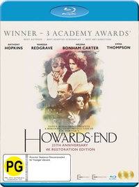 Howard's End: 25th Anniversary Edition on Blu-ray