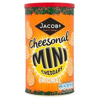 Jacobs Mini Cheddars Original Caddy 260g