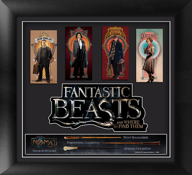 FilmCells: Fantastic Beasts (Wands) - Framed Movie Art