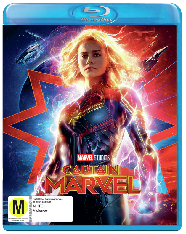 Captain Marvel on Blu-ray