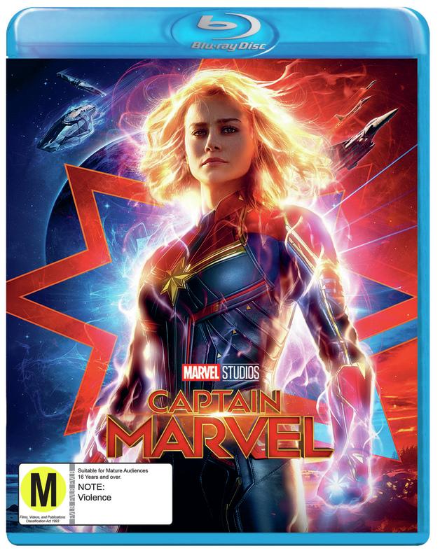 Captain Marvel on Blu-ray