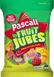 Pascall Fruit Jubes (180g)