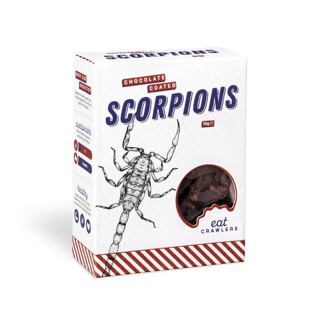 Eat Crawlers: Chocolate Coated Scorpions (10g)