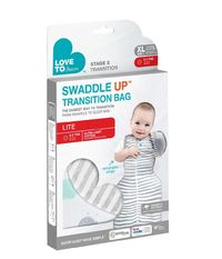 Love to Dream: Swaddle Up Transition Bag Lite 0.2 TOG - Large (White)
