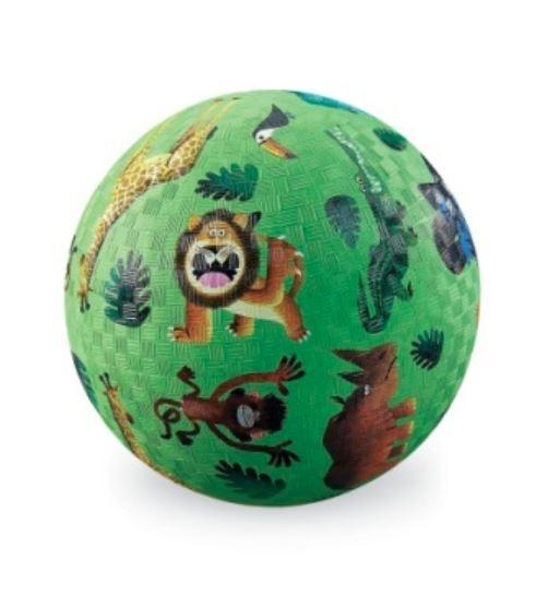 "Crocodile Creek: 7"" Playground Ball - Very Wild Animals"